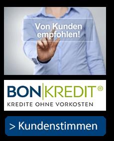 Kredite ohne Vorkosten - Kundenstimmen